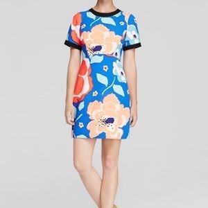Kate Spade Jaq Dive Right In print dress